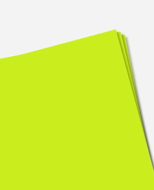 Flex-Soft Neon Gul, 100 stk.